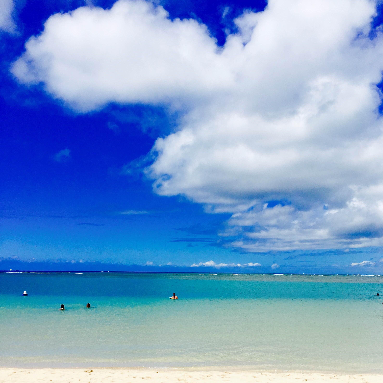 仕事をもって、いざ解放ハワイへ