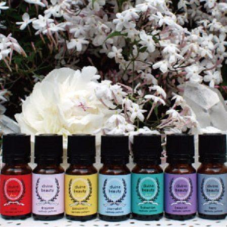 Saly Beautismからcaptivate perfume 誕生