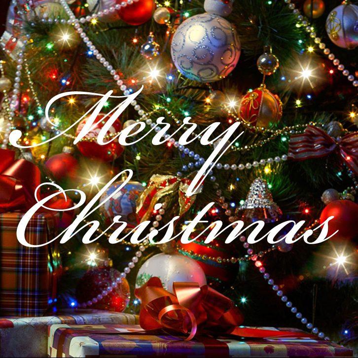 クリスマスの幸運をお祈りいたします。